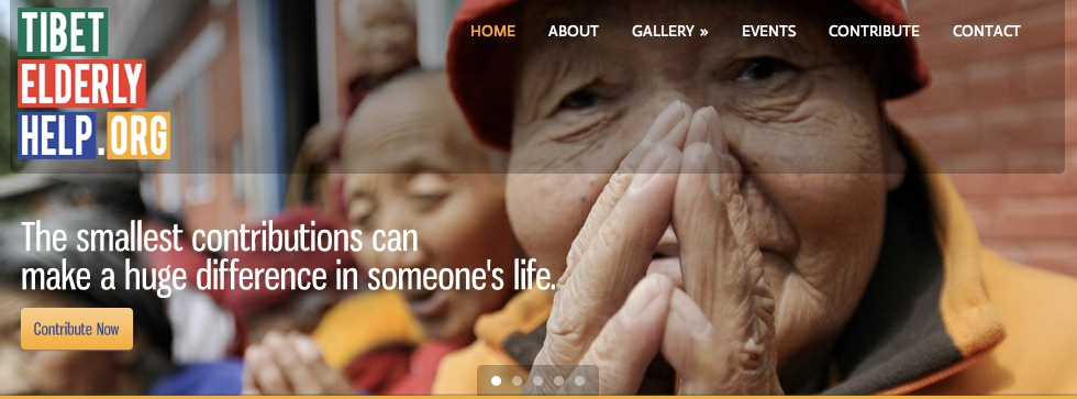Tibet Elderly Help: Organization Website
